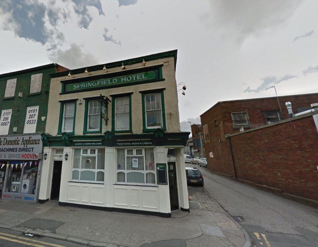 Springfield Hotel, 232 Walton Road, Liverpool L4 4BE