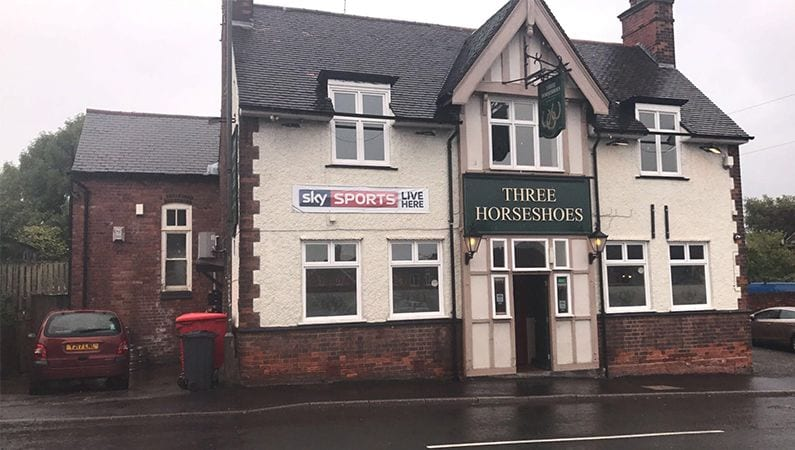 Three Horseshoes, 78 Town Street, Nottingham NG16 6HN