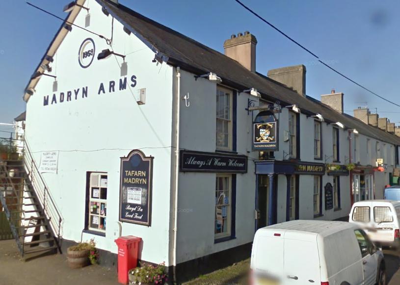 Madryn Arms, Chwilog, Pwllheli, LL53 6SH